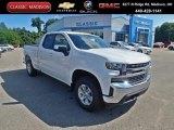 2020 Summit White Chevrolet Silverado 1500 LT Double Cab 4x4 #138988461