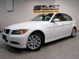 2007 Alpine White BMW 3 Series 328xi Sedan #13884369