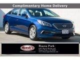 2017 Lakeside Blue Hyundai Sonata SE #138988407