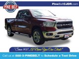 2020 Delmonico Red Pearl Ram 1500 Big Horn Quad Cab 4x4 #138999400