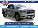 2020 Bright White Ram 1500 Big Horn Quad Cab 4x4 #138999397