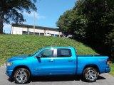 2020 Hydro Blue Pearl Ram 1500 Big Horn Crew Cab 4x4 #139005748