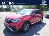 2020 Radiant Red Metallic Honda CR-V Touring AWD #139005871
