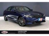 2020 Mediterranean Blue Metallic BMW 3 Series 330i Sedan #139021670