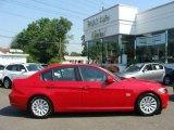 2009 Crimson Red BMW 3 Series 328xi Sedan #13880191
