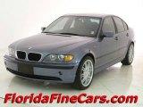 2003 Steel Blue Metallic BMW 3 Series 325i Sedan #13883493