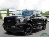 2020 Agate Black Ford F150 Lariat SuperCrew 4x4 #139021529