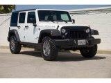 2017 Bright White Jeep Wrangler Unlimited Rubicon 4x4 #139021629