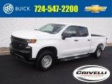 2020 Summit White Chevrolet Silverado 1500 WT Crew Cab 4x4 #139021722