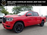 2020 Flame Red Ram 1500 Big Horn Night Edition Crew Cab 4x4 #139054007
