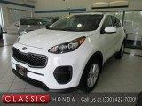 2017 Clear White Kia Sportage LX #139054242