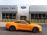 2019 Orange Fury Ford Mustang GT Premium Fastback #139054149