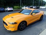 2019 Ford Mustang GT Premium Fastback Front 3/4 View