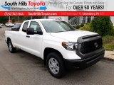 2020 Super White Toyota Tundra SR Double Cab 4x4 #139054039