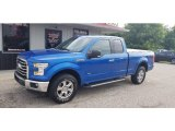 2015 Blue Flame Metallic Ford F150 XLT SuperCab 4x4 #139073774