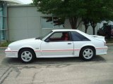 1988 Ford Mustang Oxford White