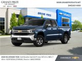 2020 Northsky Blue Metallic Chevrolet Silverado 1500 LT Double Cab 4x4 #139073520