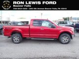2020 Rapid Red Ford F150 XLT SuperCab 4x4 #139098320