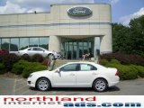 2010 White Suede Ford Fusion SE #13878708