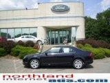 2010 Tuxedo Black Metallic Ford Fusion SE #13878709