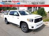 2020 Super White Toyota Tundra Platinum CrewMax 4x4 #139112926