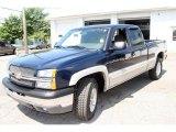 2005 Dark Blue Metallic Chevrolet Silverado 1500 Z71 Extended Cab 4x4 #13897418