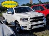 2020 Bright White Ram 1500 Laramie Crew Cab 4x4 #139125379