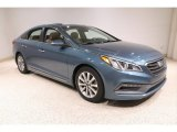 2017 Nouveau Blue Hyundai Sonata Limited #139125469