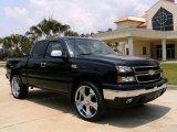 2006 Dark Blue Metallic Chevrolet Silverado 1500 LS Extended Cab #13890903