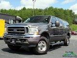 2004 Dark Shadow Grey Metallic Ford F250 Super Duty Lariat Crew Cab 4x4 #139125311