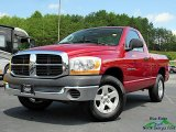 2006 Inferno Red Crystal Pearl Dodge Ram 1500 ST Regular Cab #139125306