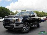 2020 Agate Black Ford F150 XLT SuperCrew 4x4 #139125304
