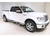 2014 White Platinum Ford F150 Lariat SuperCab 4x4 #139152060