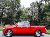 2020 Flame Red Ram 1500 Big Horn Quad Cab 4x4 #139151840