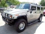 2003 Pewter Metallic Hummer H2 SUV #139152009