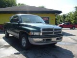 1999 Forest Green Pearl Dodge Ram 1500 SLT Extended Cab #13893369