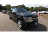 2020 Agate Black Ford F150 Platinum SuperCrew 4x4 #139186240