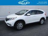 2015 White Diamond Pearl Honda CR-V EX #139186054