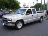 2006 Silver Birch Metallic Chevrolet Silverado 1500 Extended Cab #13875311