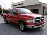 2002 Flame Red Dodge Ram 1500 SLT Plus Quad Cab #13883564