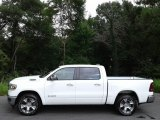 2020 Bright White Ram 1500 Laramie Crew Cab 4x4 #139213285
