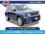 2020 Jetset Blue Jeep Renegade Limited 4x4 #139213328