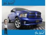 2014 Blue Streak Pearl Coat Ram 1500 Express Quad Cab 4x4 #139227110