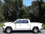 2020 Bright White Ram 1500 Laramie Crew Cab 4x4 #139227099