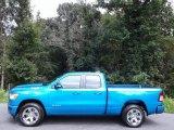 2020 Hydro Blue Pearl Ram 1500 Big Horn Quad Cab 4x4 #139227096