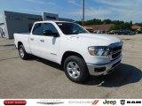 2020 Bright White Ram 1500 Big Horn Quad Cab 4x4 #139227240