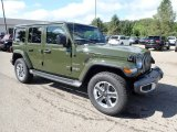 2020 Jeep Wrangler Unlimited Sarge Green