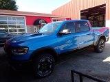 2020 Hydro Blue Pearl Ram 1500 Rebel Crew Cab 4x4 #139259060