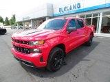 2020 Red Hot Chevrolet Silverado 1500 Custom Crew Cab 4x4 #139274070