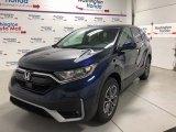2020 Obsidian Blue Pearl Honda CR-V EX AWD #139283504